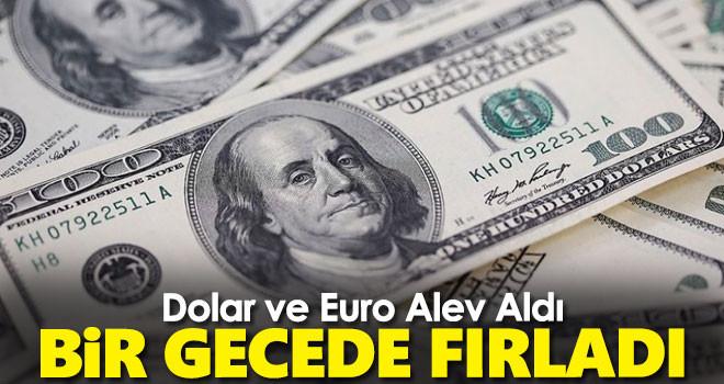 Dolar ve Euro Görevden Alınmalardan Sonra Bir Anda Fırladı