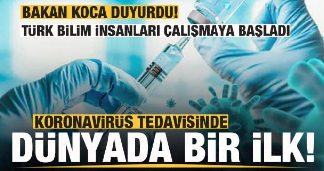 Korona aşısında dünyada bir ilk! Türk bilim insanları çalışmaya başladı!