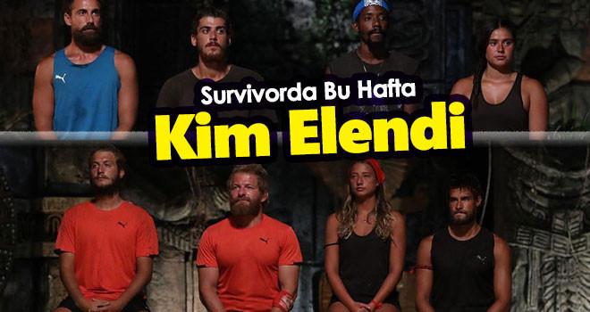 Survivor Bu Hafta Kim Elendi? 8 Haziran 2021
