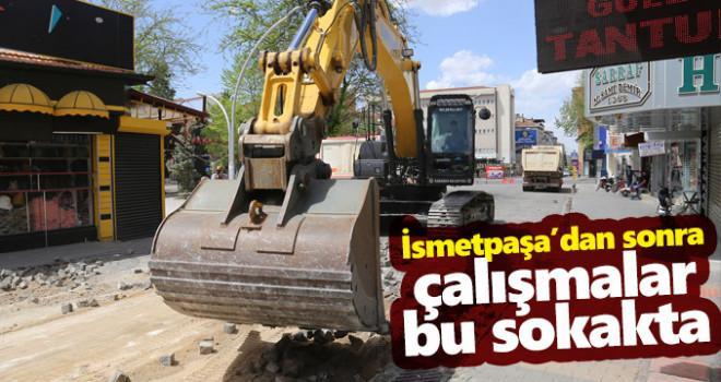 Karaman Belediyesi Çalışmaları 8. Sokakta