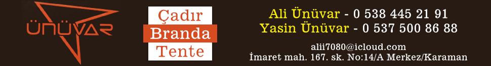 Anasayfa reklam yatay manşet altı Ünüvar