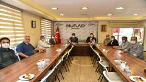 AK Parti İl Başkanı Çalışkan'dan MÜSİAD'a ziyaret