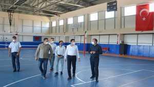 Kırşehir Gençlik ve Spor İl Müdürü Şahin, Boztepe ve Çiçekdağı'nda çalışmaları inceledi