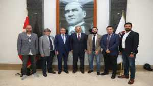 TSYD Eskişehir Şubesi'nden Vali Ayyıldız'a ziyaret