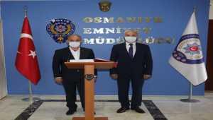 Emniyet Genel Müdürü Aktaş'tan, Osmaniye İl Emniyet Müdürlüğüne ziyaret
