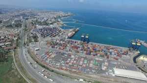 İskenderun'daki uluslararası liman, Lübnan'a destek için hazır