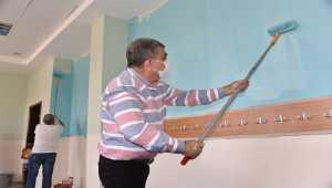 Karaman'da okullar yeni eğitim öğretim yılına hazırlanıyor