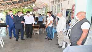 Osmaniye Valisi Yılmaz'dan ziyaret