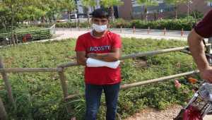 Adana'da hastane otoparkından motosiklet çalmaya çalışan zanlı yakalandı