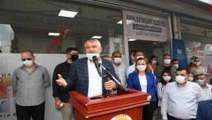 Adana'da sığınmacılar ve düşük gelirliler için çamaşırhane açıldı