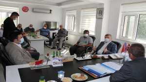 AK Parti Konya Milletvekili Akyürek, Yalıhüyük'ü ziyaret etti