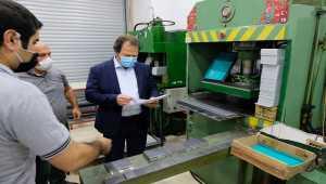 Ankara'daki plaka basım atölyesi yeni hizmet binasına taşındı