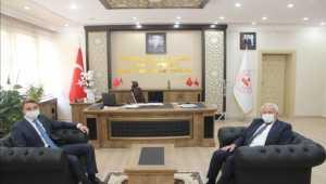 Başkan Saygı'dan Kaymakam Akın'a hayırlı olsun ziyareti