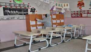 Beypazarı'nda tüm okullar dezenfekte ediliyor