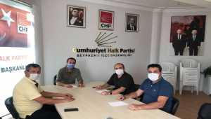 CHP ve İYİ Parti Beypazarı ilçe başkanlarından toplantı