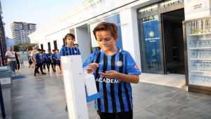 Inter Akademi Türkiye dünya liglerinde oynayacak futbolcular yetiştirecek