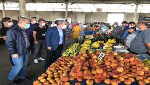 Kırşehir pazar yerinde