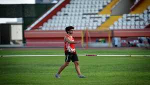 Rekortmen atlet Ersu Şaşma'nın hedefi Tokya'da