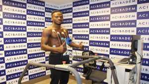 Sivasspor'un yeni transferi Olarenwaju Kayode sağlık kontrolünden geçirildi