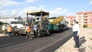 Suşehri'nde asfalt çalışmaları