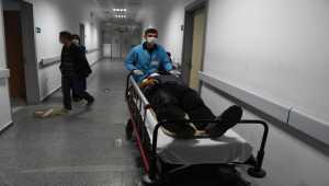 Aksaray'da işçi servisi devrildi: 13 yaralı
