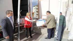 Ankara'nın Çubuk ilçesinde Azerbaycan için insani yardım kampanyası başlatıldı