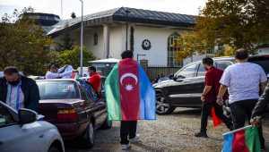 Başkentte Azerbaycan'a destek konvoyu