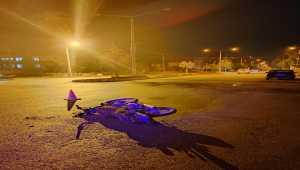 Burdur'da panelvanla çarpışan motosikletin sürücüsü öldü