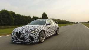 F1 pilotları yeni Alfa Romeo Giulia GTA'yı test etti