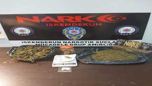 Hatay'da uyuşturucu operasyonunda 3 kişi yakalandı