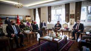 Karadağ Yüksek Mahkeme Başkanı ve üyeleri Ankara'da