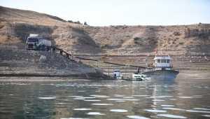 Kayseri'de Yamula Barajı'nda 1400 ton somon balığı üretildi