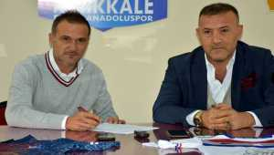 Kırıkkale Büyük Anadoluspor, teknik direktör Erman Güraçar ile sözleşme imzaladı