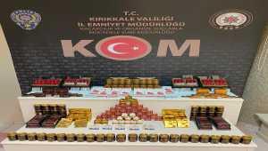 Kırıkkale'de cinsel içerikli 424 ürün ele geçirildi
