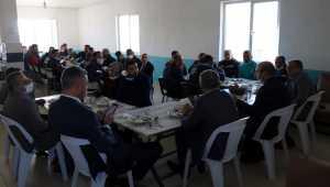 Kırşehir Belediye Başkanı Ekicioğlu çalışanlarla bir araya geldi