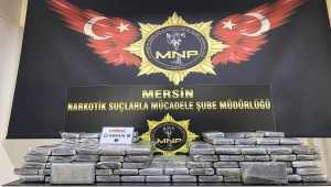 Mersin'de 220 kilogram kokainin yakalandı