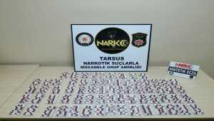 Mersin'de uyuşturucu operasyonunda 2 kişi tutuklandı