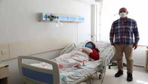 Sivas'ta mide kanseri hastası kapalı yöntemle yapılan ameliyatla sağlığına kavuştu