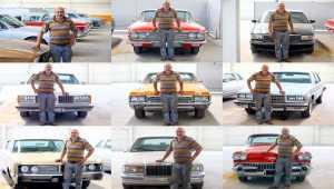 Tutkunu olduğu klasik otomobilleri hurdadan alıp eski ihtişamına kavuşturuyor