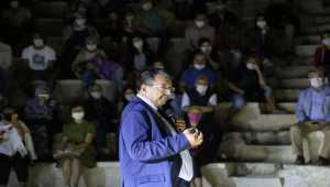 Yazar Hayati İnanç, Antalya'da söyleşiye katıldı