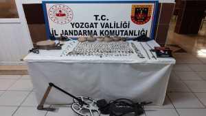 Yozgat'ta 561 parça tarihi eser ele geçirildi
