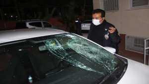 Adana'da 1. kat penceresinden otomobilin üzerine düşen tamirci yaralandı