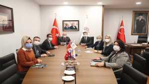 Bosna Hersek Büyükelçisi Alagiç, ATO Başkanı Baran'ı ziyaret etti