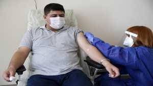 Çin menşeli Kovid-19 aşısı Kayseri'de gönüllülere uygulanıyor