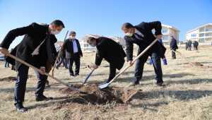 Çubuk'ta öğretmenler için hatıra ormanı oluşturuldu