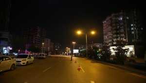 Doğu Akdeniz'de sokağa çıkma kısıtlamasına uyuluyor
