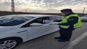 Hatay'da sürücülere emniyet kemerinin önemi anlatıldı