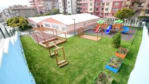 Mamak Belediyesi kreşi açılış için gün sayıyor