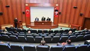 Osmaniye'de Kovid -19 değerlendirme toplantısı yapıldı