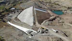 Sorgun Erkekli Barajı'nda sona yaklaşılıyor